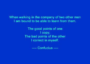 Company of Men - Confucious